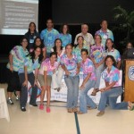 Marine Science Students from the UPRM at the 33rd AMLC at St. Thomas