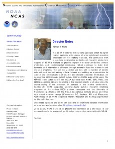 NCAS newsletter preview