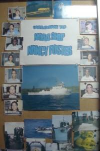 The Scientific Crew onboard of the NOAA R/V Nancy Foster 1st leg.