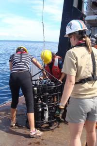 Preparing the Optical Rosette for deployment
