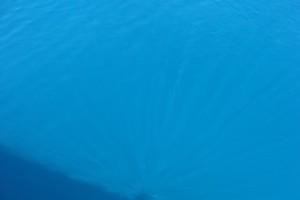 Crystalline clear blue Caribbean ocean