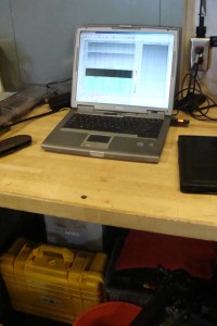 Downloading data from the ADCP sensors