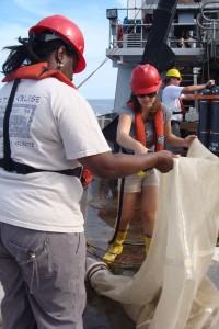 Retrieving the bongo net