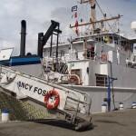 NOAA Nancy Foster at the Santo Domingo port in Domincan Republic