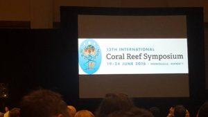 Coral Reef Symposium, Hawaii - 2016